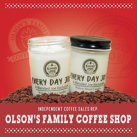 Olson Coffee Shop - Every Day Joe Candle