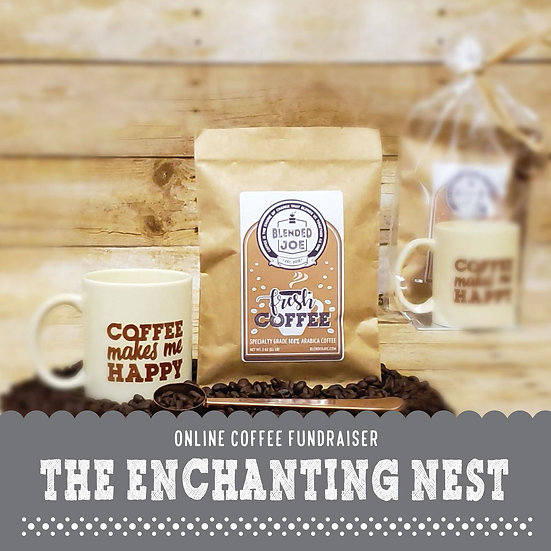 Enchanting Nest - Coffee & Mug 3oz Gift Set