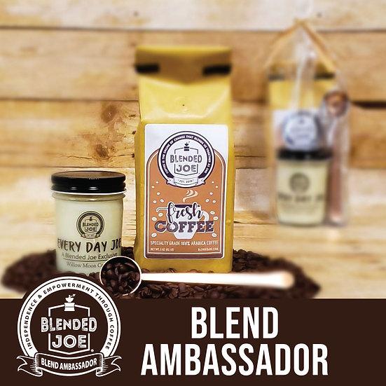 Blend Ambassador - Coffee & Candle 12oz Gift Set