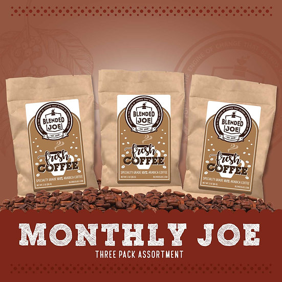 Monthly Joe 3oz Three Pack