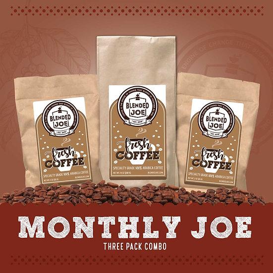 Monthly Joe - Three Pack Combo