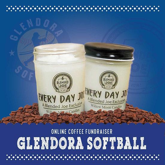 Glendora Softball - Every Day Joe Candle