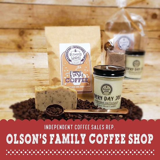 Olson Coffee Shop - I Love Coffee Mini Gift Set