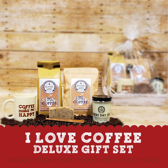 I Love Coffee Deluxe Gift Set