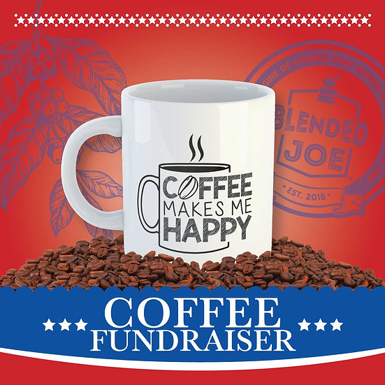 Olson - Coffee Makes Me Happy Mug