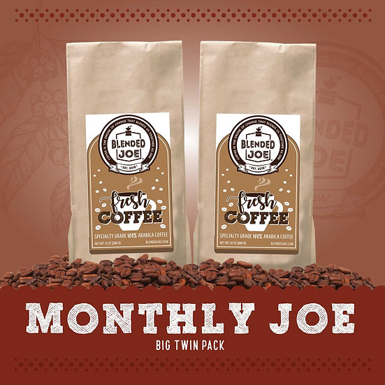 Monthly Joe Big Twin Pack
