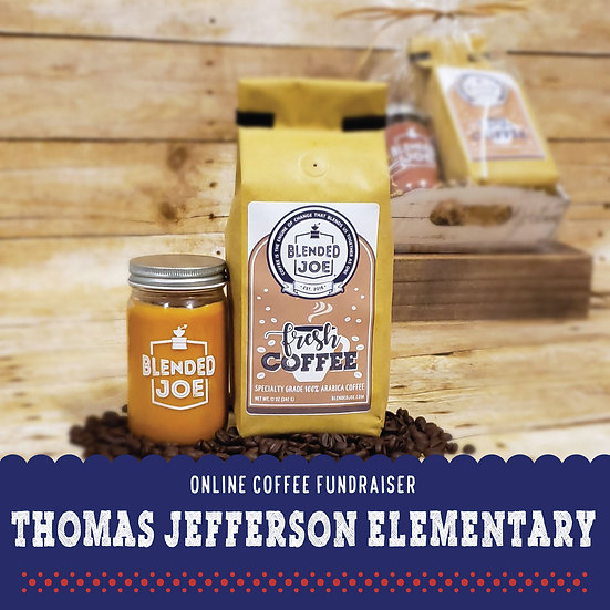 TJ Elementary - Coffee & Candle Seasonal Gift Set