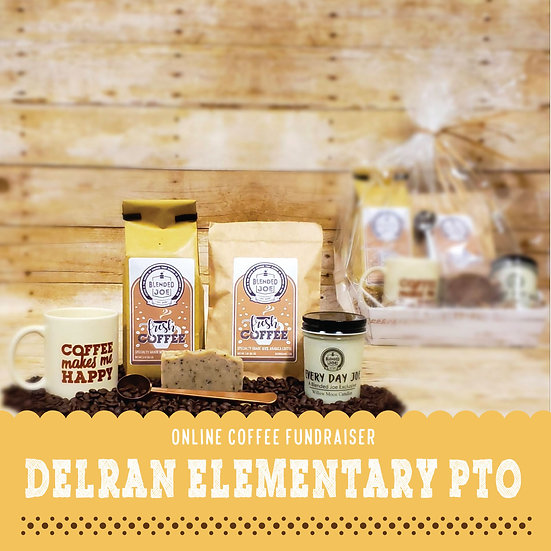 Delran Elementary - I Love Coffee Deluxe Gift Set