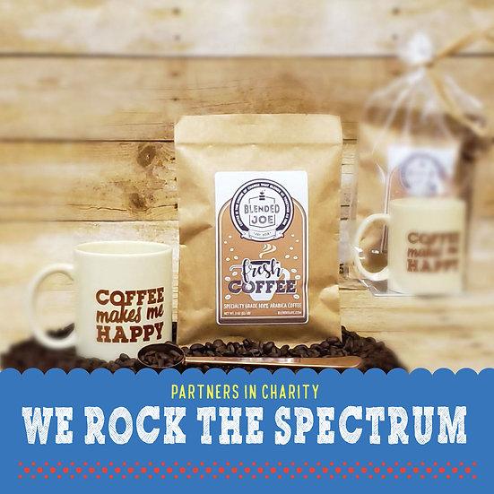 We Rock The Spectrum - Coffee & Mug 3oz Gift Set