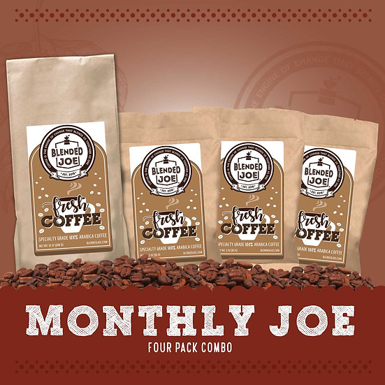 Monthly Joe Four Pack Combo