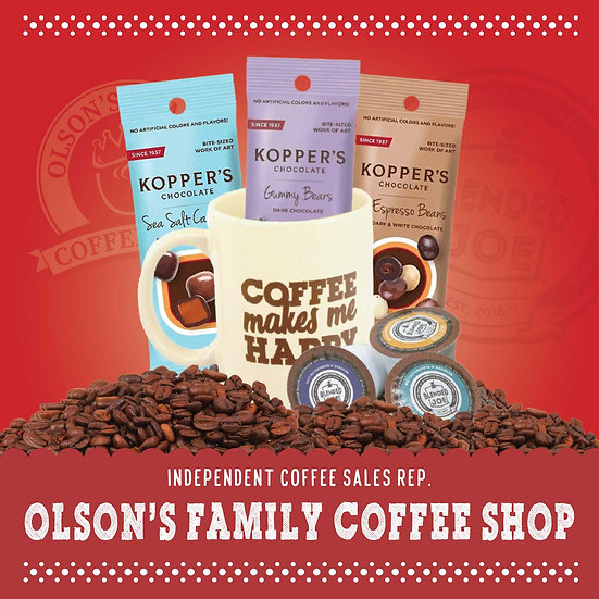 Olson Coffee Shop - Little Joes Mug-Oh-Happiness