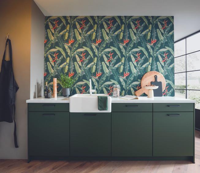 green_kitchen_bird_of_paradise_wall_pape