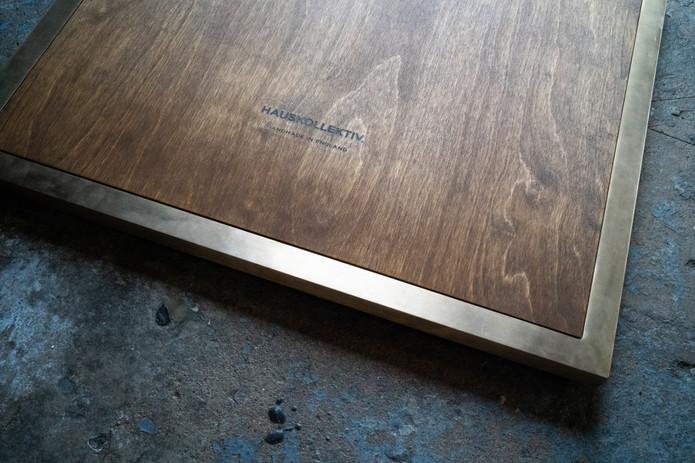 brass-frame-kitchen-door-plywood-kitchen