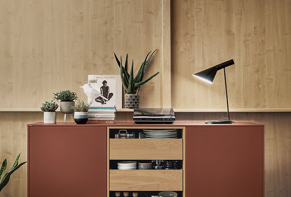 SIDEBOARD UNIT INDIAN RED