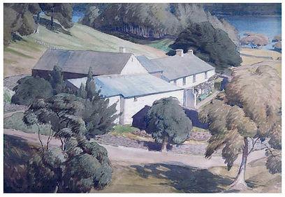 """""""Sunny Bank Farm"""" by William Heaton Cooper"""