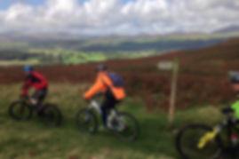 Bikers admiring the views