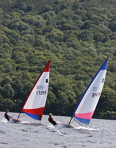 Sailing on Coniston Water