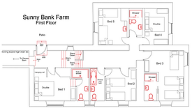 Sunny Bank Farm - First Floor