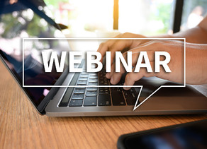 Some exciting, not-to-be-missed webinars coming up from Shaun Luyt