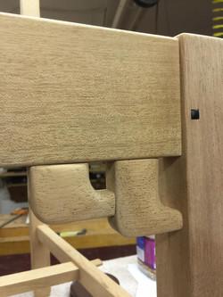 Custom furniture detail