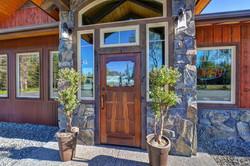 The Flats restaurant custom door