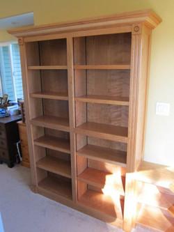 Office books shelves by Stix Jenkins