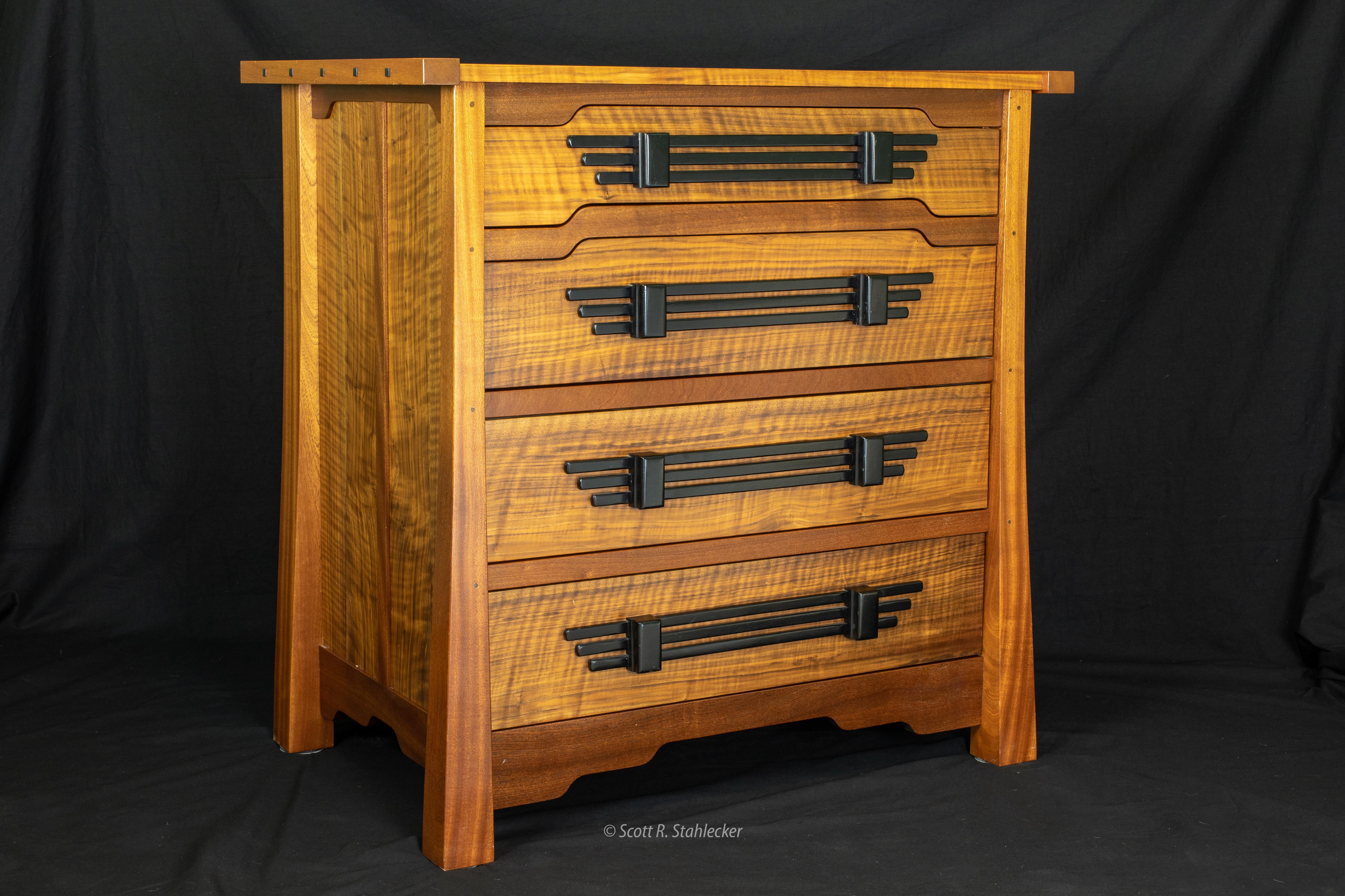 Stix's Woodworks Sapele Dresser 1 (1)
