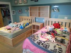 Custom children's bedroom set