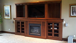 Sapele Built-In with inlays
