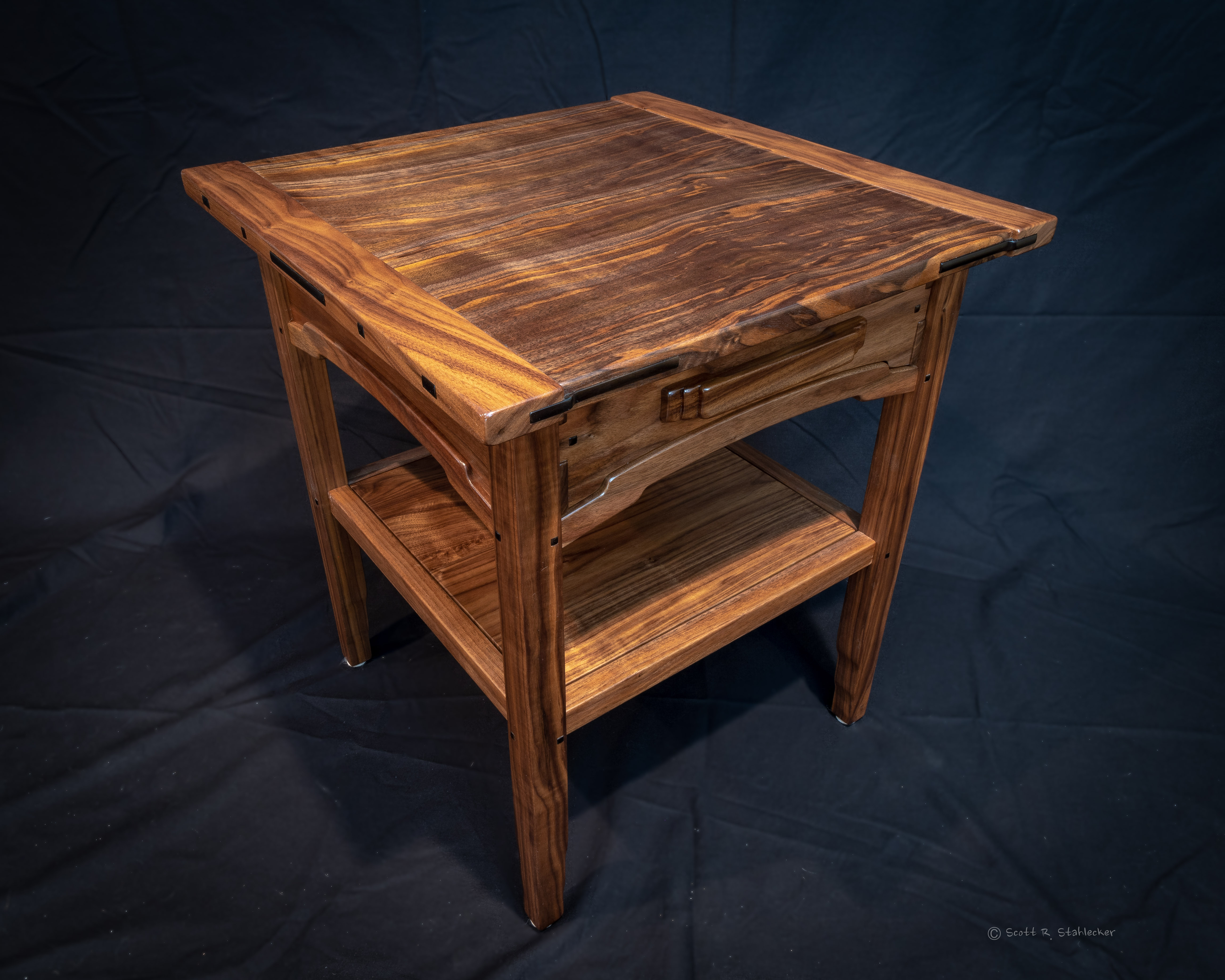 Walnut Night Stand 1