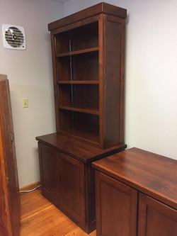 Alder office furniture for a church