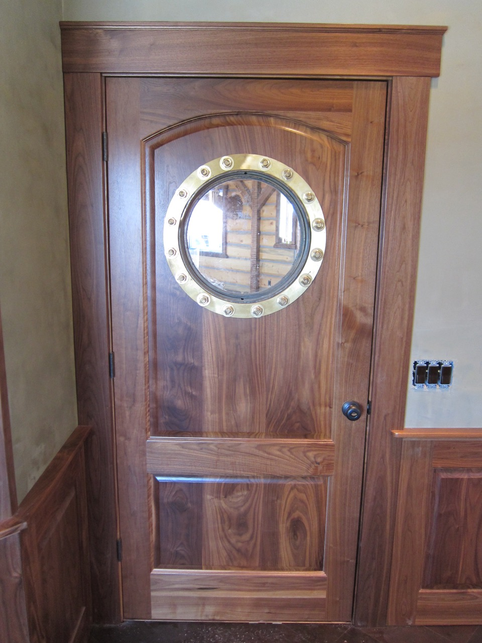 Specialty door commission by Stix