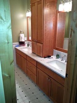 Custom Cherry Bathroom