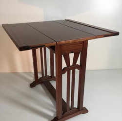Folding Table by Stix's Woodworks