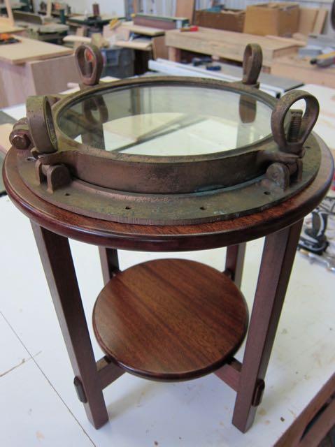 Boat Porthole Table