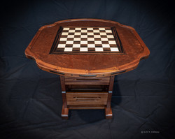 Stix's Woodworks Chess Table 1