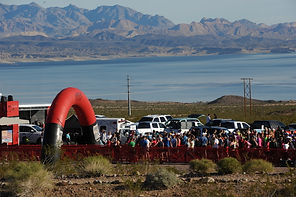 January Lake Mead Nevada Las Vegas Running Race Views Scenic