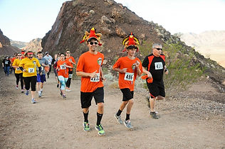 November Thanksgiving Las Vegas Endurance Family Running Race Run Views Scenic Lake Mead