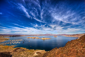 December Lake Mead Las Vegas Nevada Running Endurance Race Views Scenic