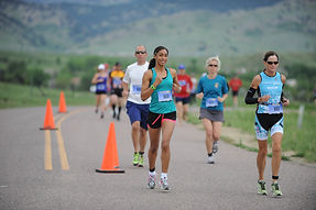 August Boulder Reservoir Colorado Endurance Running Event