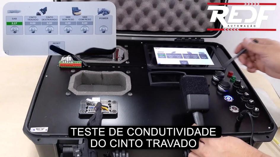 Maleta de Teste de Componentes Automotivos