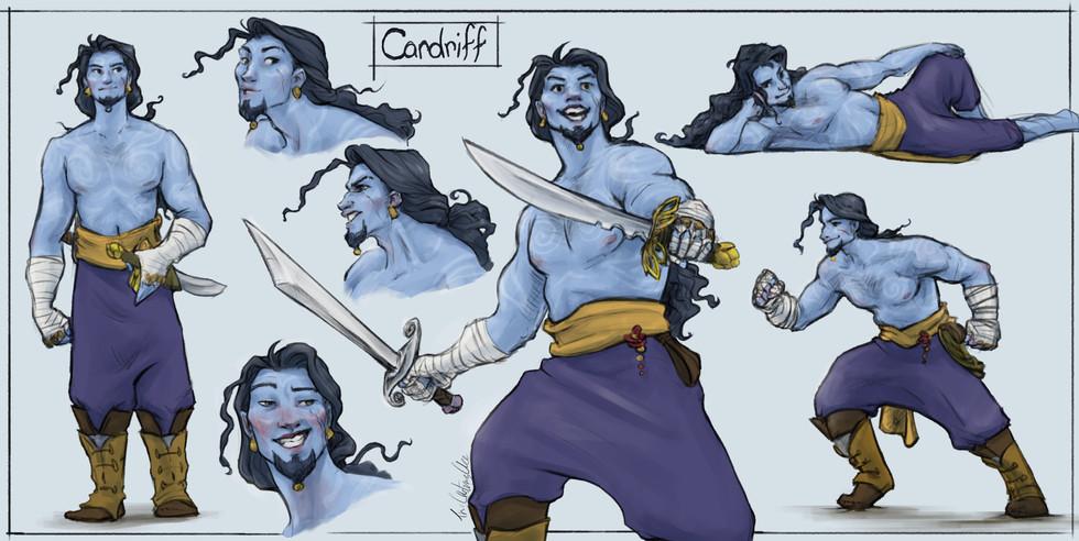 Cardriff Character Design