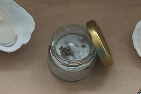 Bougie mini-pot