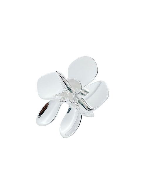 """Robert Wun x Sara Chyan """"Orchid Mantis"""" silver ring"""