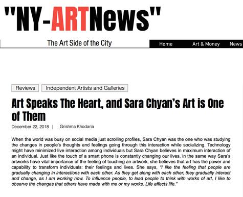 Art Review by NY-ArtNews Grishma Khodaria