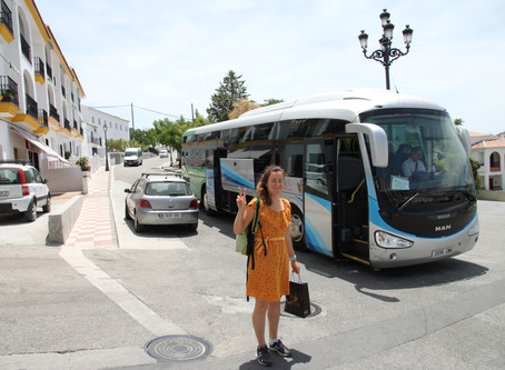 Fun and Easy Route to Árchez from Málaga Airport.