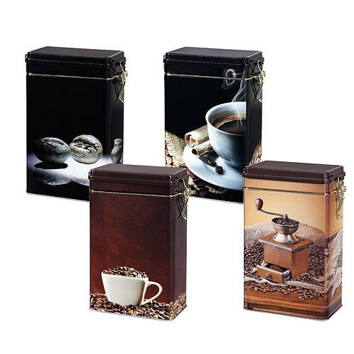 Boîte à café 4 décors