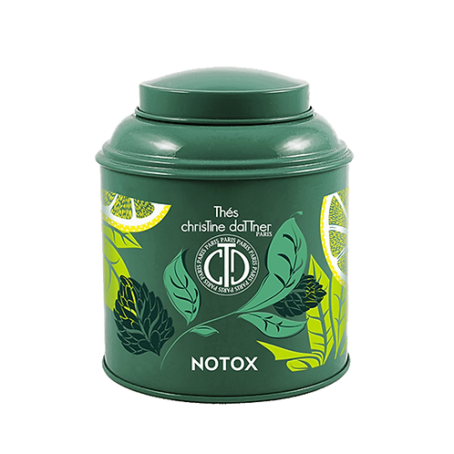 Boîte laquée thé notox