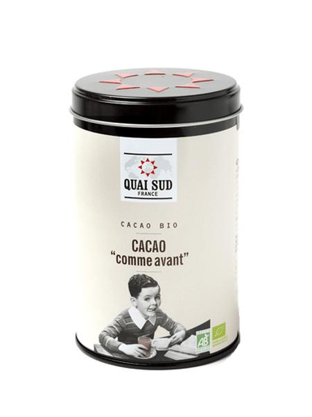 Cacao comme avant bio