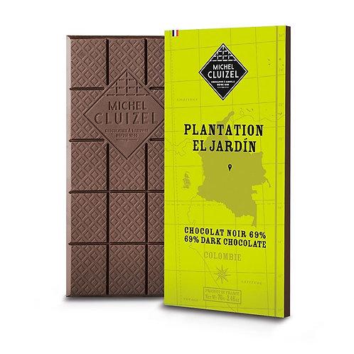 Plantation el jardin chocolat noir 69%